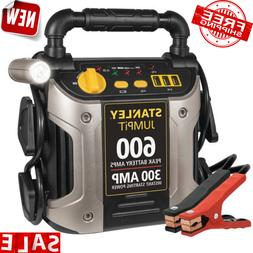 Battery Jump Start Air Compressor 600 Amps Mobile Charger Di