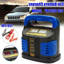 Car Battery Charger Jump Starter Portable Power Bank 350W 11