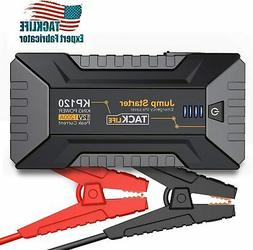 TACKLIFE KP120 1200A Peak Car Jump Starter for up to 8L Gas