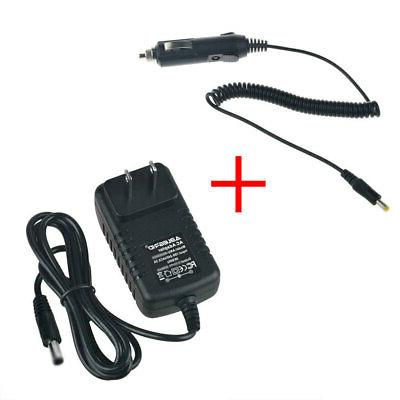 ac adapter car charger for cobra cjs
