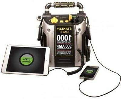Car Booster Power Bank with Compressor