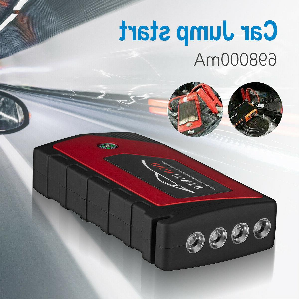 Car Jump Portable Charger Power with LED 12V