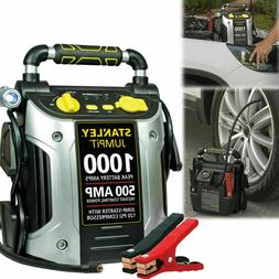 PORTABLE BATTERY CHARGER 1000 Peak Amp Car Jump Starter with