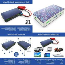 Portable Phone Laptop Car Jump Starter  with AC Outlet 58830